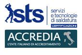 sts certificazioni accredia logo