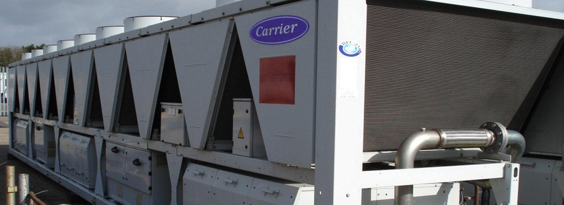 impianto climatizzazione hvac carrier